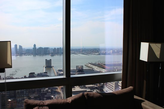 Trump SoHo New York: Hudson river view