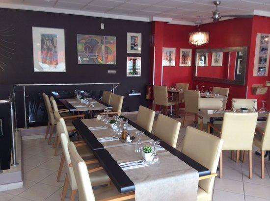 Bonnies Gallery Restaurant: interior upstairs restaurant