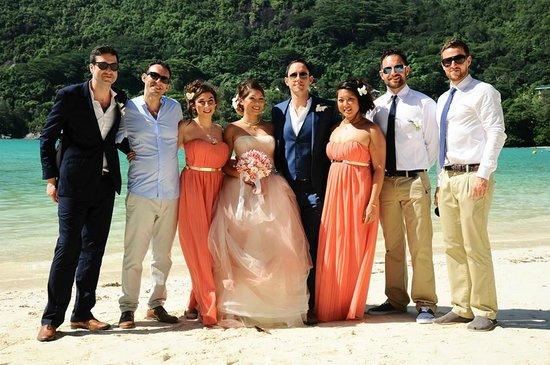 Constance Ephelia : Beach wedding