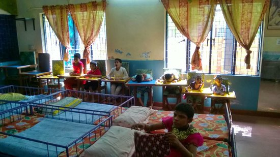 Mother Teresa's Missionaries of Charity: Invalid children with severe mental disabilities