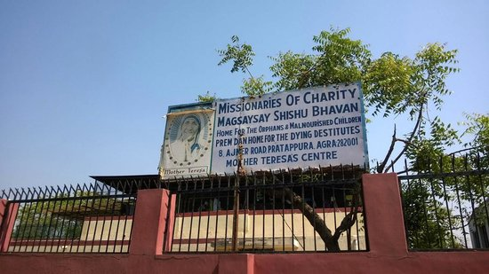 Mother Teresa's Missionaries of Charity: Signboard