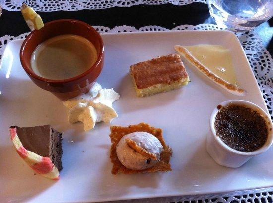 Café gourmand au Bon thé Bonheur