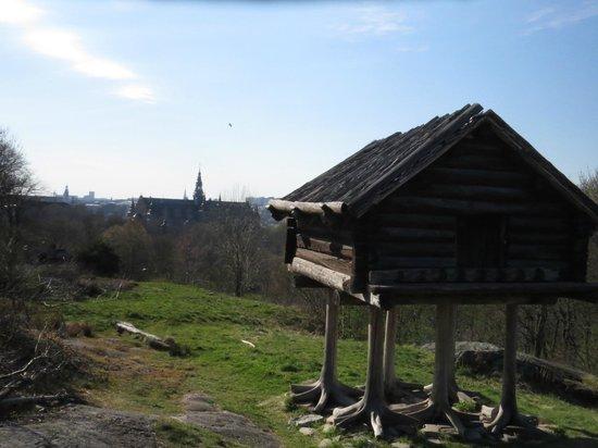 Musée de plein air de Skansen : Skansen Building- Stokholm view