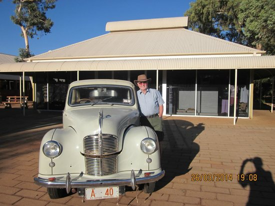 Outback Pioneer Hotel & Lodge, Ayers Rock Resort : I had one of these
