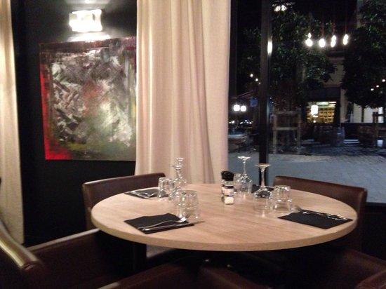 Quai West : Mesa con encanto