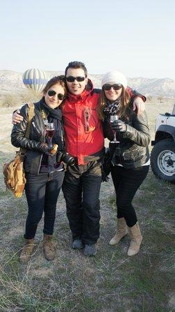 Atmosfer Balloons : Con nuestro gran piloto Tahir!