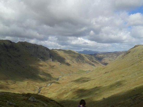 The Cumbrian Way: Langstrath Beck