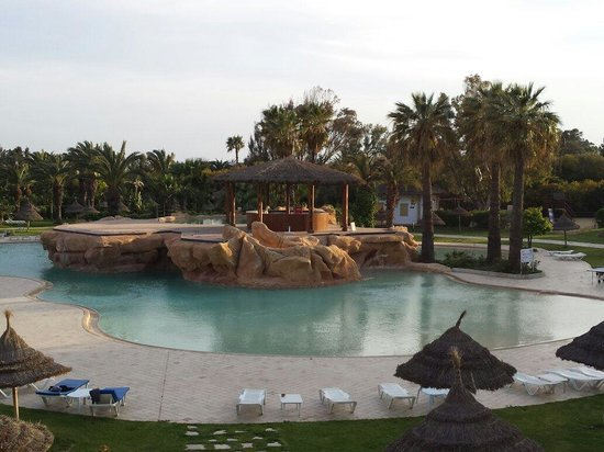 SENTIDO Phenicia: The evening view from our room
