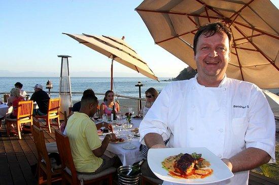 Chef Bernhar Guth Propietario de sandzibar