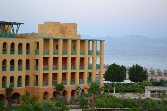 Strand Beach and Golf Resort Taba Heights : Вид из номера