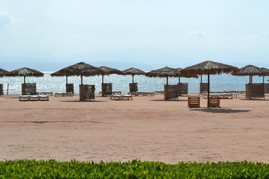 Strand Beach and Golf  Resort Taba Heights : Пляж