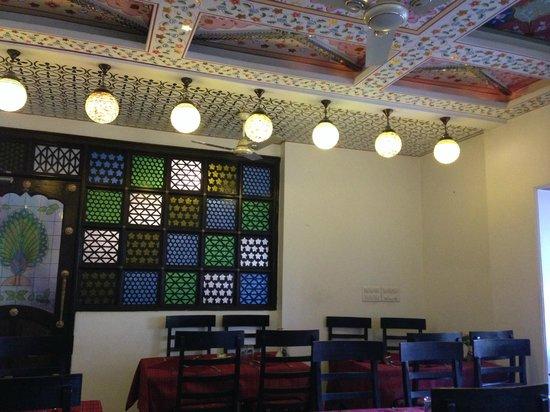 Nahargarh Haveli: Dining room