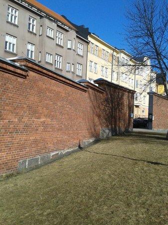 Hotel Katajanokka: тюремные стены