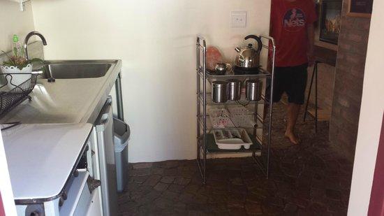 motel Mi Pi CHi : Kitchenette in the room