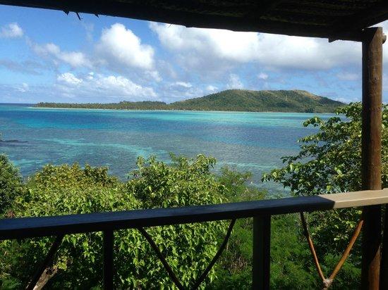 Nanuya Island Resort: Vistas desde la habitación