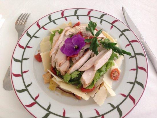 L'Orangerie : Petite salade avec une pensée pour...toi!