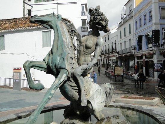 Casco antiguo de Marbella: Entrada do bairro antigo