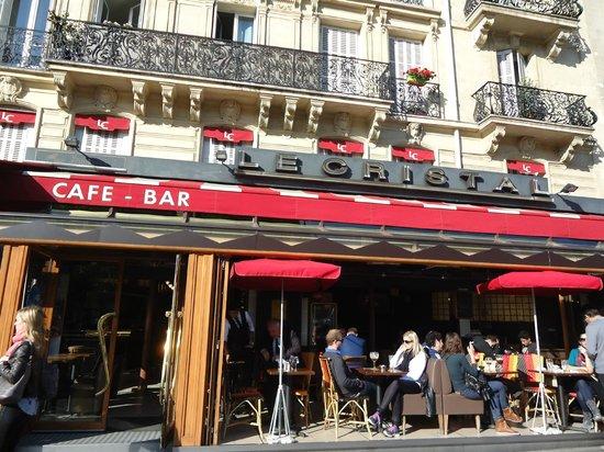 Le Cristal: Ресторан