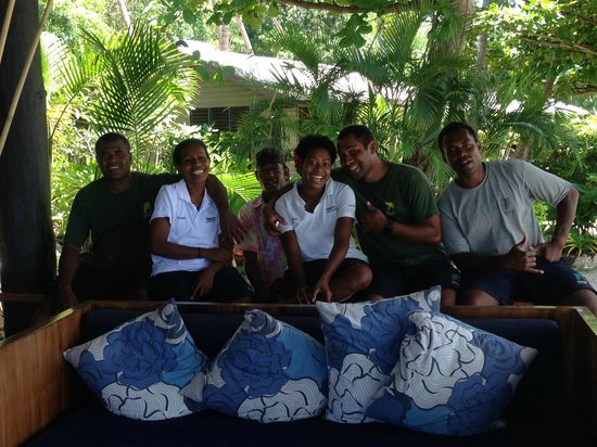 Nanuya Island Resort: The staff