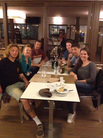 Peniche Surf Lodge: dinner