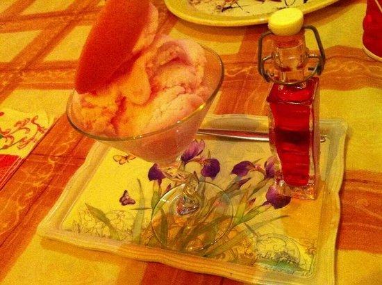 Piazzogna, Suisse : Sorbet Pompelmo