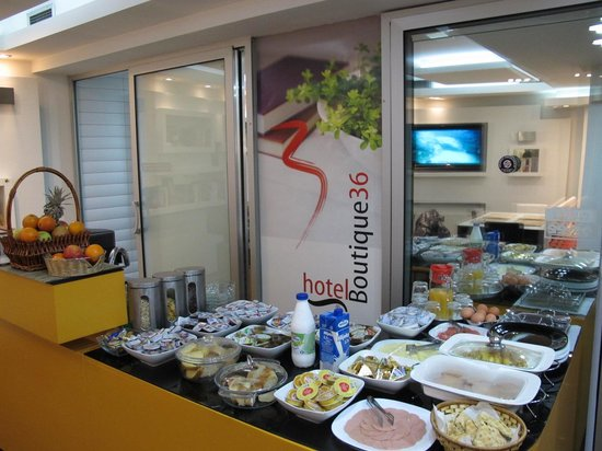 Hotel Boutique 36: Simply and delicious breakfast