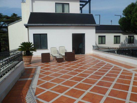 ดอนนาเลาราพาเลส: Roof terrace
