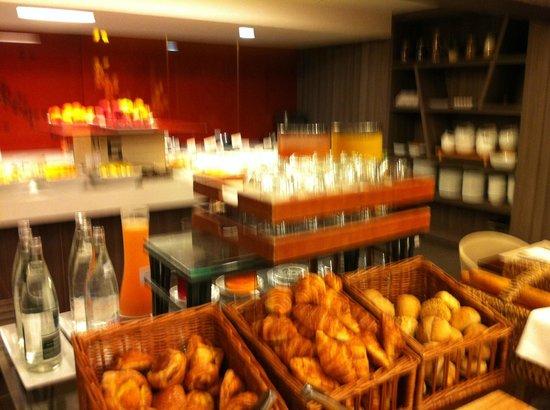 Paris Marriott Charles de Gaulle Airport Hotel : Breakfast