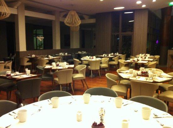 Paris Marriott Charles de Gaulle Airport Hotel : Restourant area