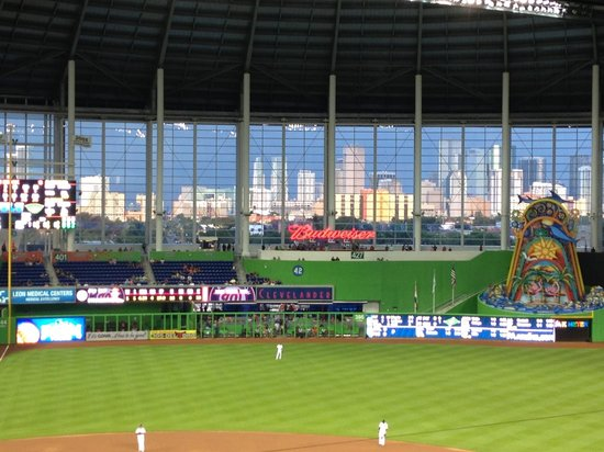 Marlins Park: the view from section 211