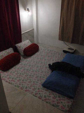 Maya Hotel & Restaurant: unser Bett