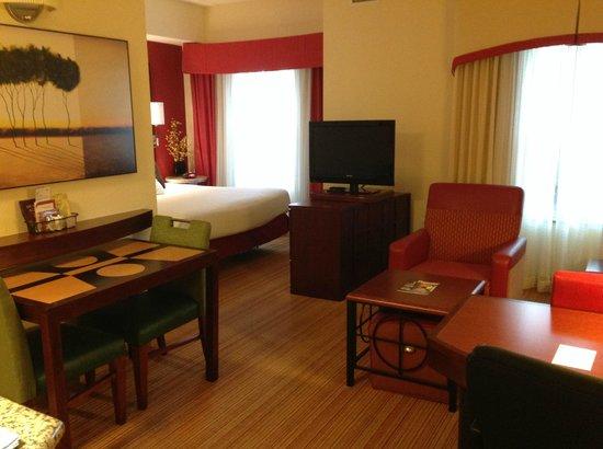 Residence Inn Gainesville I-75 : Living Room Area