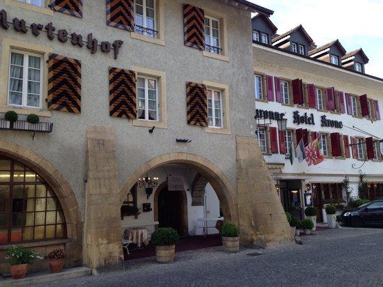 Hotel Murtenhof & Krone : Von aussen