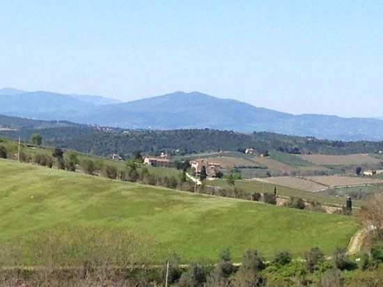 Tuscan Wine Tours with Angie: The stunning view of the Chianti region April 2014