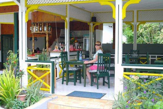 Pension Michel : dining area