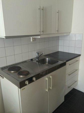 Thon Hotel Slottsparken: cuisine chambre