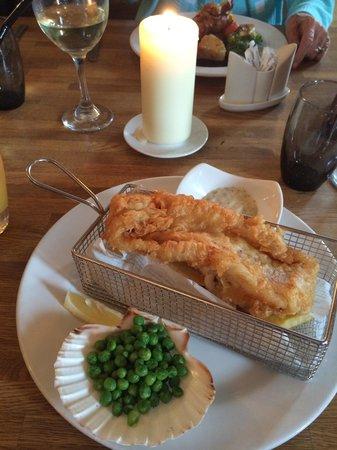 The Waterside Restaurant Bar & Terrace: Fish&chips