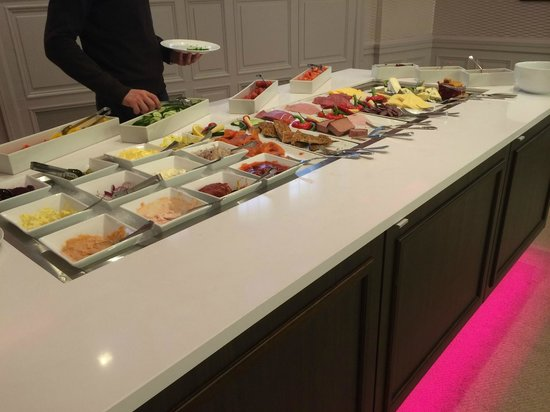 Thon Hotel Slottsparken: buffet
