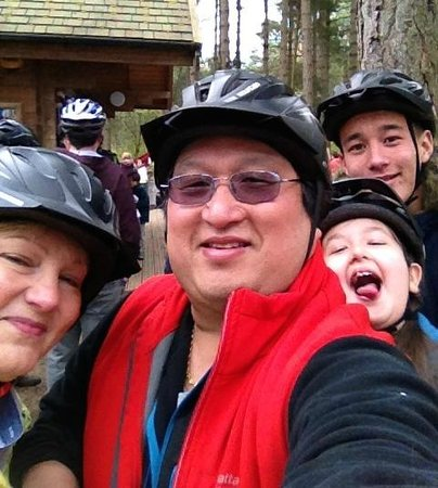 Go Ape Moors Valley: Happy Smiles before the Segway Experience