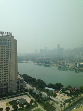 Kempinski Hotel Xiamen: View of lake in downtown Xiamen