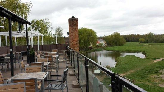 The Mill Hotel: Varanda