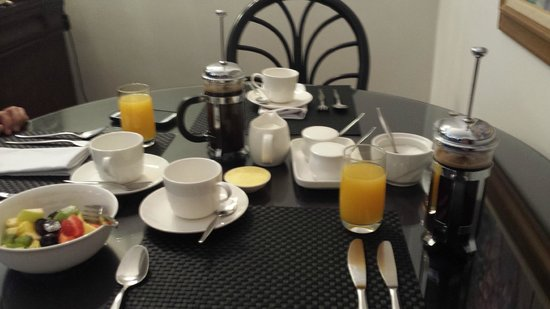 Underberg Guest House: Full hot breakfast to order every morning