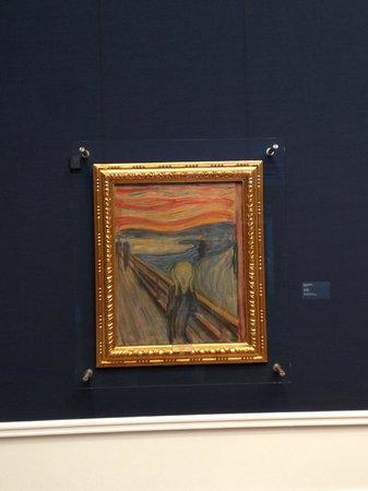 Galería Nacional: O grito - Munch