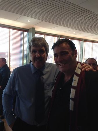 West Ham United FC: with Phil Parkes