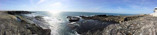 Hook Lighthouse: The rocks under the lighthouse
