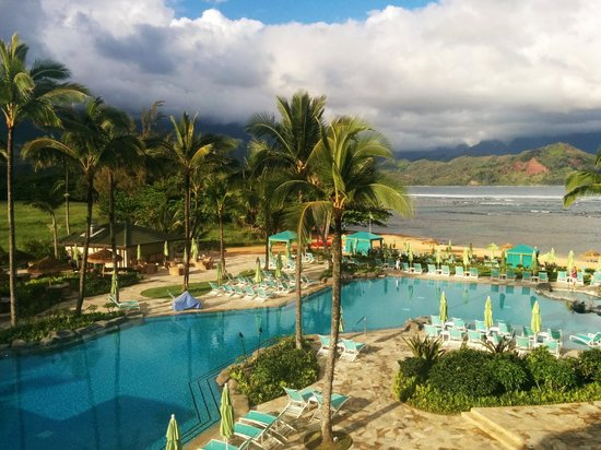 St. Regis Princeville Resort: View from room 317