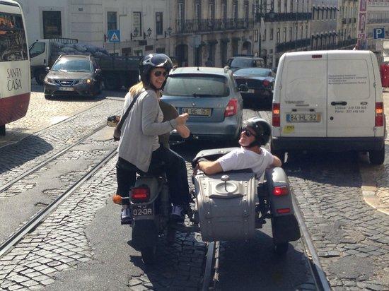 Sidecar Tours by Bike My Side : Lisbon!!