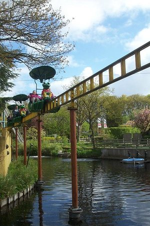 Duinrell Amusement Park: The Cycle Monorail - for the fit only