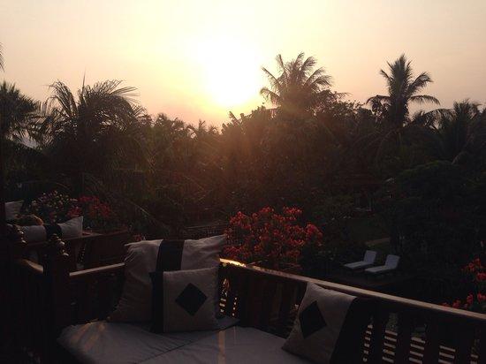 Anantara Hua Hin Resort : Sunset from our lagoon room