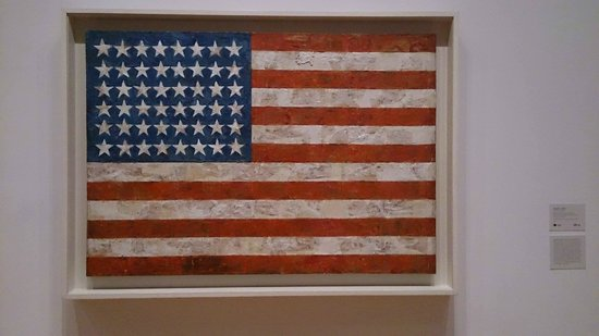The Museum of Modern Art (MoMA): us flag